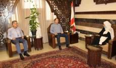 الحريري تابعت مع ضو والسعودي أزمتي الكهرباء والمياه في صيدا
