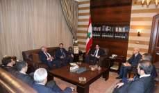 الحريري استقبل وفدا من اتحاد بلديات المنية