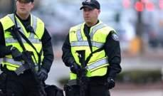 الشرطة الهولندية تعتقل مئات الأشحاص في مظاهرات ضد العزل العام