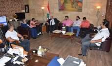"""نهرا استقبل رئيس """"جمعية اقرأ"""" للتنمية الاجتماعية بلال دقماق"""