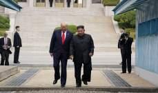 ترامب: كيم جونغ اون قدّم اعتذاراته بعد إطلاق صواريخ