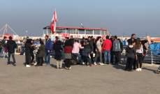 انطلاق مسيرة مراكب من ميناء طرابلس باتجاه المنتجعات السياحية بالقلمون وشكا