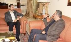 كرامي التقى منسق اللجنة الأسقفية للحوار المسيحي الإسلامي شمالا