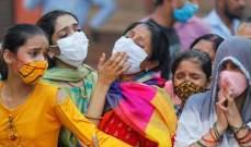 الصحة الهندية: 38 ألفا و772 إصابة جديدة بفيروس كورونا و443 وفاة