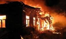 الطوارئ الروسية: مصرع 6 أشخاص في حريق بضواحي موسكو