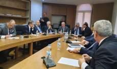 حتي التقى أعضاء لجنة الشؤون الخارجية وتشديد على التزام لبنان بمبادرة السلام العربية