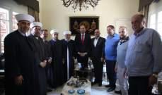 الوزير حسن مراد يعلن عن منح جديدة للجيش اللبناني