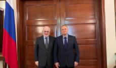 أبو زيد بحث مع السفير الروسي الأوضاع وللعلاقات الثنائية بين البلدين