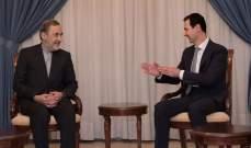 ولايتي: الأسد وافق على تأسيس فروع لجامعة آزاد الإسلامية في سوريا