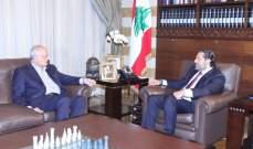 الحريري التقى وزير المال وعرض معه الاوضاع السياسية