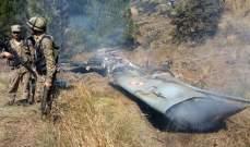 تحطم طائرة للقوات الجوية الباكستانية في إسلام اباد