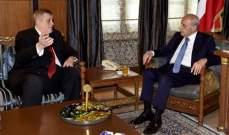 بري استقبل السفيرة الاميركية والسفير زاسبيكين وعرض الاوضاع العامة مع كوبيتش