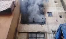 إخماد حريق أعشاب في حارة صخر وآخر شب داخل شقة سكنية في برج البراجنة