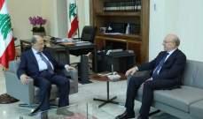 غطاس خوري نقل إلى الرئيس عون رسالة شفهية من الحريري حول الأوضاع الراهنة