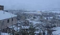 امطار متفرقة غدا والثلوج على 1200 متر مع ارتفاع لموج البحر مترين