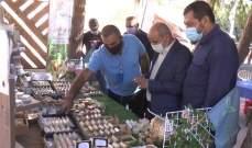 جشي جال في سوق المزارع: على الدولة أن تتحمل المسؤولية تجاه تأمين فرص العمل
