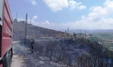 الدفاع المدني: إخماد 4 حرائقق مختلفة في جبيل وبجدرفل وبخعون وزوق مصبح