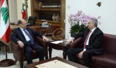 """الرئيس عون يلتقي رئيس كتلة """"ضمانة الجبل"""" النائب طلال أرسلان"""