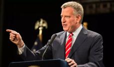 عمدة نيويورك: تفشي كورونا سيؤدي إلى أكبر أزمة داخلية منذ الكساد الكبير