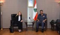 اللواء عثمان استقبل مديرة الشرطة الاسترالية