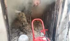 """النشرة: احراق منزل احد عناصر """"انصار الله"""" في مخيم المية ومية"""