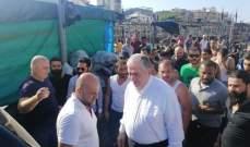 الجسر:  أتوقع التعويض سريعا على المتضررين في منطقة حريق طرابلس