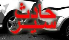 النشرة: 3 جرحى في حادث سير مقابل الملعب البلدي لمدينة صيدا