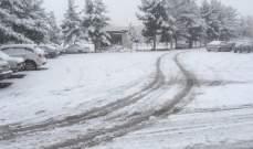موجة جليد في طهران تتسبب في إغلاق المدارس
