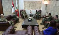 قائد الجيش استقبل وفداً من وزارة الدفاع الإسبانية