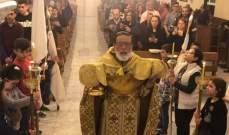 الطوائف المسيحية التي تتبع التقويم الشرقي في راشيا والبقاع الغربي أحيت أحد الفصح