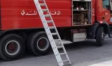 الدفاع المدني:إصابة امرأة بحالة ضيق بالتنفس إثر حريق داخل مبنى في جبيل