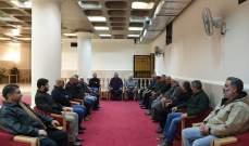 وفد من حزب الله في قطاع الجبل يقدم التهاني بعيد الميلاد للاب جوزيف قزي