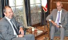 الأنباء: زيارة باسيل الى بري وراءها نصيحة من الرئيس عون