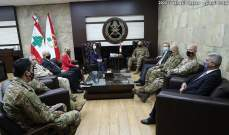 قائد الجيش ترأس اجتماع لجنة الإشراف العليا على برنامج المساعدات لحماية الحدود البرية