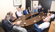 كنعان التقى رؤساء بلديات متنية: الدولة متعثرة والمرحلة صعبة وعلينا التعاون