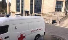 الصليب الاحمر اللبناني يقدم الرعاية الصحية في بلدية حارة صيدا