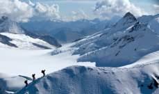 مقتل فرنسي وابنته بانهيار جليدي في جبال الألب