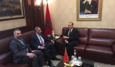 الوفد النيابي المشارك بمؤتمر اتحاد البرلمانات الاسلامية يواصل لقاءاته في الرباط