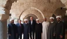 المفتي دريان تفقد المشروعين الكبيرين في رحاب المسجد العمري الكبير