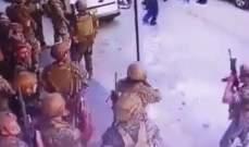 مصادر الـLBCI: فيديو الجندي لم يكن ببداية الإشتباك بل بعد تحذير المتظاهرين من إستعمال القوة إن لم ينسحبوا