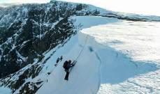 وفاة متسلقين وإصابة آخرَين اثر انهيار ثلجي على جبل بن نيفيس ببريطانيا