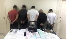 شعبة المعلومات أوقفت عصابة تجارة وترويج مخدرات بينها شخص زوّر شهادة جامعية