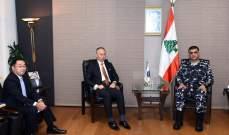 اللواء عثمان عرض مع السفير الياباني الجديد الاوضاع العامة في البلاد
