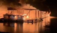 مقتل 8 أشخاص في حريق بولاية ألاباما الأميركية