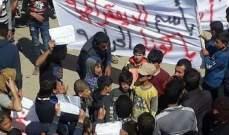 """""""قسد"""" يطلاق النار على متظاهرين ينددون بممارساته في ريف دير الزور ويقتل 3 منهم"""
