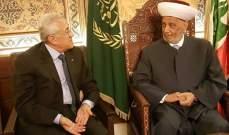 سليمان التقى دريان: السوريون يجب ان يقوموا بدورهم بقضية النازحين