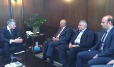 سفير بيلاروسيا زار غرفة التجارة في صيدا والجنوب: لتطوير صيغ التعاون