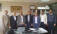 وفد من حزب الله زار إدارة جمعية مركز الرحمة لخدمة المجتمع في عبرا