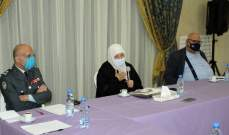 بهية الحريري: صيدا قدمت في السابق نماذج مشرّفة في العمل التعاوني