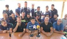 متطوعو الدفاع المدني أمهلوا الرئيسعون ودياب 72 ساعة لأخذ جواب حول توقيع مرسوم تثبيتهم